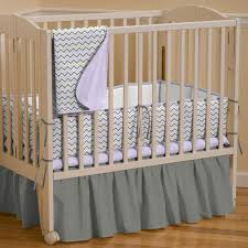 Purple Chevron Crib Bedding Zspmed Of Portable Crib Bedding Sets In Inspirational Home
