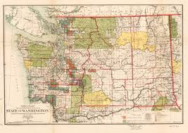 Map Of Washington State by Antique Map Of Washington Hjbmaps Com U2013 Hjbmaps Com Harlan J