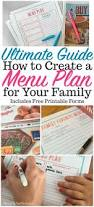 printable menu planner template best 25 meal planning templates ideas on pinterest menu menu planning menu planning printables menu planner menu planning on a budget how