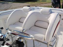 How To Reupholster Boat Cushions Scarab Seating And Knee Rails Bb Upholstery