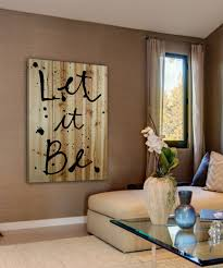 marmont hill let it be wood wall art zulily