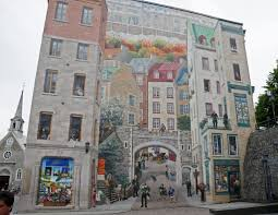 quebec city wall mural wall murals you ll love panoramio photo of mural in old quebec city canada
