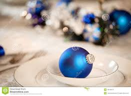 white and blue table decorations stock photos image 16646373