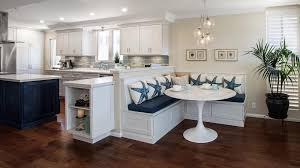charming kitchen with banquette 38 kitchen booth seating built