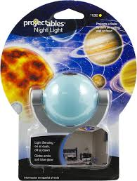 night light that projects on ceiling amazon com projectables solar system led plug in night light 11282