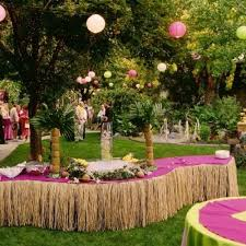 caribbean themed wedding ideas caribbean party decorations ideas party table decorations