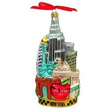 kurt adler c4055 new york glass cityscape ornament 5