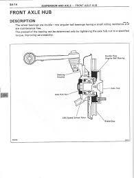 lexus is300 maintenance manual tutorial front wheel bearing replacement clublexus lexus