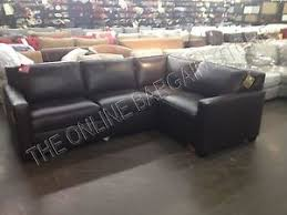 West Elm Henry Leather Sofa Pottery Barn West Elm Henry Sofa Sectional Brown Leather Has