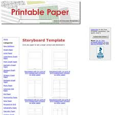 storyboard template pearltrees