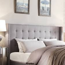 Bedroom Ideas With Upholstered Headboards Bedroom Astonishing Bed Combined With Alluring Linen Headboard