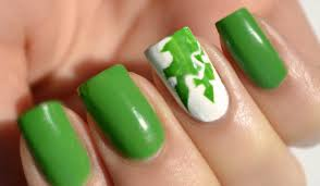 simple green nail art designs pakistani color nail art designs
