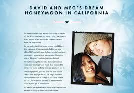 wedding fund websites exle honeymoon funds and wedding gift lists buy our honeymoon
