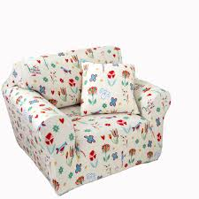 Slipcover For Chair And Ottoman Furniture Easy To Put On And Very Comfortable To Sit With