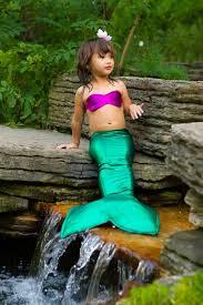 Mermaid Halloween Costume Mermaid Costume Girls Green Mermaid Tail Girls