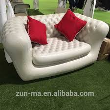 Blow Up Sofa Bed by Low Moq Two Seater Heavy Duty Inflatable Chair Furniture Pvc Sofa