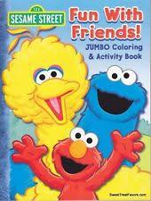 sesame street fun friends book ebay