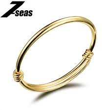 yellow bangle bracelet images 7seas cute gold color baby bracelets bangles kids jewelry gift jpg