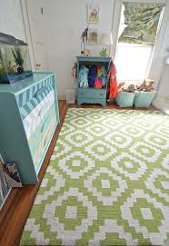 Green Blue And Organized Shared Kids Room Hometalk - Flooring for kids room