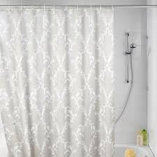 elegant fabric shower curtains transparent plastic curtain beige