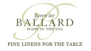 Fine Table Linens by Fine Linens For The Table Karen Lee Ballard Made In The Usa