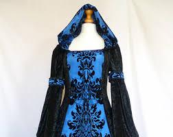 Black Wedding Dress Halloween Costume Gothic Wedding Gown Etsy