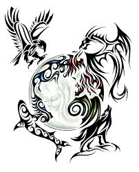 tribal back tattoo design by jsharts on deviantart