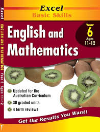booktopia excel english u0026 maths yr 6 year 6 core book by