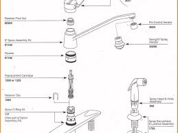 sink u0026 faucet stunning moen kitchen faucet parts diagram on