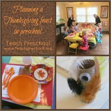 planning a thanksgiving feast teach preschool