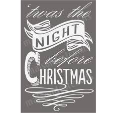29 christmas stencils images christmas