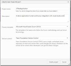 continuous integration with visualstudio com and tfs dotnetjalps