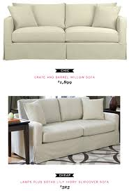 loveseat vs sofa crate and barrel willow sofa 1 899 vs lamps plus sofab lily