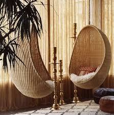 design under the influence the rattan hanging chair la dolce vita
