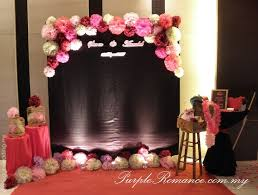 diy wedding photo booth modern reception decorations photo booth backdrop 116881