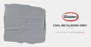 Cool Gray Paint Colors Cool Metalwork Grey Paint Color Glidden Paint Colors