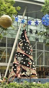 Christmas Decorations Shop Westfield by This Christmas Tree In This Shopping Mall Is Created With Tension