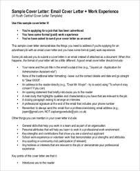 cover letter as email download cover letter email example