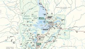 grand map official grand teton national park map pdf my yellowstone park