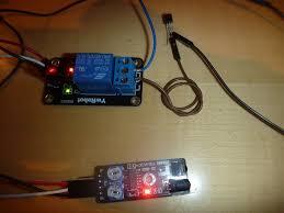 barriere infrarouge exterieur sans fil barrière infra rouge ds2401 et bus 1 wire domolio la domotique