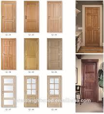 Modern Bedroom Door Designs - solid core natural walnut veneer mdf 3 panel interior doors wooden