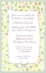 high school graduation party invitations fresh high school graduation invitation wording or high school