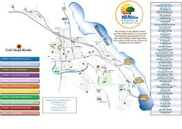 Map Of Custer State Park by Trails Mandan Parks And Recreation