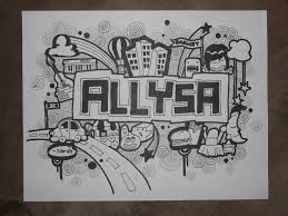 doodle name kate doodle name wall graffiti