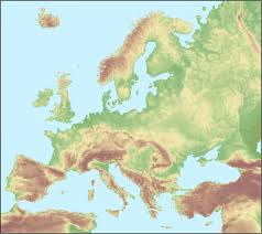 Southeastern Europe Map by A Population Grid Map Of Europe 774 X 1 094 Rebrn Com