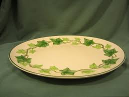 Vintage China Patterns by Vintage Franciscan Ware Ivy Pattern Dinner Plate This Is The