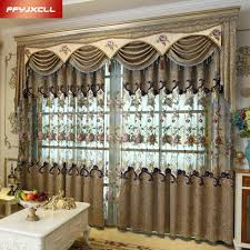 Window Valances For Living Room Online Get Cheap Luxury Valance Aliexpress Com Alibaba Group