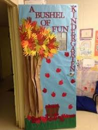 fall door decorations door display personalize it by writing student names on the