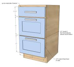 Drawer Kitchen Cabinets by Ana White 18
