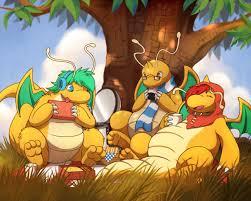 Dragonite Meme - dragonite picnic weasyl